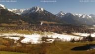 Archiv Foto Webcam Blick von der Kurklinik auf Oberstdorf 13:00
