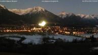 Archiv Foto Webcam Blick von der Kurklinik auf Oberstdorf 17:00