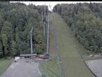 Archiv Foto Webcam Skiflugschanze Oberstdorf 11:00