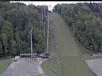 Archiv Foto Webcam Skiflugschanze Oberstdorf 13:00