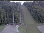 Archiv Foto Webcam Skiflugschanze Oberstdorf 17:00