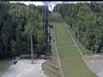 Archiv Foto Webcam Skiflugschanze Oberstdorf 08:00