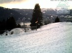 Archiv Foto Webcam Blick von der Bergstation Mittagbahn 02:00