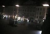 Archiv Foto Webcam Graz: Blick auf den Hauptplatz 22:00