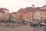 Archiv Foto Webcam Graz: Blick auf den Hauptplatz 06:00