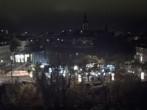 Archiv Foto Webcam Graz: Blick auf das Kunsthaus 21:00
