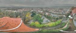 Archiv Foto Webcam Blick vom Schlossberg auf Graz 04:00