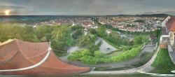 Archiv Foto Webcam Blick vom Schlossberg auf Graz 00:00