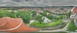 Archiv Foto Webcam Blick vom Schlossberg auf Graz 06:00