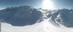 Archived image Webcam Les Deux Alpes top station chairlift La Fée 10:00