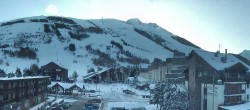 Archiv Foto Webcam Les Deux Alpes Ortszentrum 07:00
