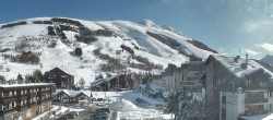 Archiv Foto Webcam Les Deux Alpes Ortszentrum 11:00