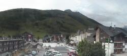 Archived image Webcam Les Deux Alpes (village center) 07:00