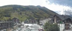 Archived image Webcam Les Deux Alpes (village center) 09:00