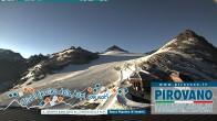 Archiv Foto Webcam Trincerone: Blick auf den Gletscher am Stilfser Joch 00:00