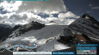 Archived image Webcam Trincerone: Glacier View 04:00