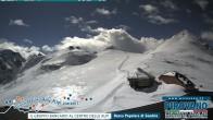 Archiv Foto Webcam Trincerone: Blick auf den Gletscher am Stilfser Joch 04:00
