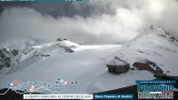 Archiv Foto Webcam Trincerone: Blick auf den Gletscher am Stilfser Joch 08:00
