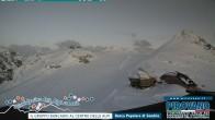 Archiv Foto Webcam Trincerone: Blick auf den Gletscher am Stilfser Joch 14:00
