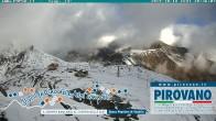 Archiv Foto Webcam Stilfserjoch: Blick vom Trincerone ins Tal 04:00