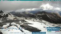 Archiv Foto Webcam Stilfserjoch: Blick vom Trincerone ins Tal 08:00