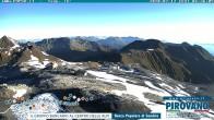 Archiv Foto Webcam Stilfserjoch: Blick vom Trincerone ins Tal 00:00