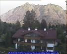 Archiv Foto Webcam Garmisch-Partenkirchen: Blick von der Kreuzstraße 22:00