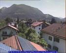 Archiv Foto Webcam Garmisch-Partenkirchen: Blick von der Kreuzstraße 04:00