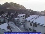Archiv Foto Webcam Garmisch-Partenkirchen: Blick von der Kreuzstraße 02:00