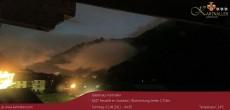 Archiv Foto Webcam Blick auf Neustift und Serles im Stubaital 22:00