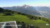 Archiv Foto Webcam Blick auf die Patscherkofel Bergstation 02:00