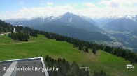 Archived image Webcam View from the Patscherkofel Top Station 08:00