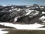 Archived image Webcam at Rossstelle in the Damüls Mellau Faschina ski resort 04:00
