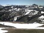 Archived image Webcam at Rossstelle in the Damüls Mellau Faschina ski resort 06:00