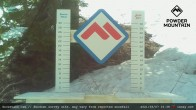 Archiv Foto Webcam Schneehöhe Skigebiet Powder Mountain 09:00