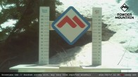 Archiv Foto Webcam Schneehöhe Skigebiet Powder Mountain 11:00