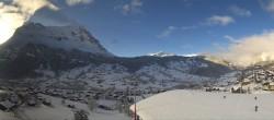 Archiv Foto Webcam 360 Grad Panoramablick vom Hotel Belvedere Grindelwald 04:00