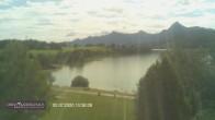 Archiv Foto Webcam Blick vom Hotel auf den Weißensee 04:00