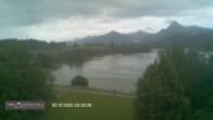 Archiv Foto Webcam Blick vom Hotel auf den Weißensee 14:00
