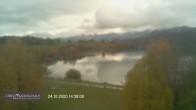 Archiv Foto Webcam Blick vom Hotel auf den Weißensee 08:00
