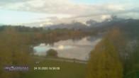 Archiv Foto Webcam Blick vom Hotel auf den Weißensee 10:00