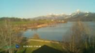 Archiv Foto Webcam Blick vom Hotel auf den Weißensee 12:00