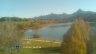 Archived image Webcam Hotel at Weissensee 06:00