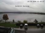 Archiv Foto Webcam Blick vom Seehotel Hartung auf den Hopfensee 06:00