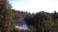 Archiv Foto Webcam Füssen: Blick auf den Lech 04:00