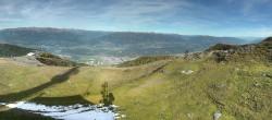 Archived image Webcam Goldeck ski resort: Panoramic view 08:00