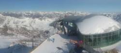 Archiv Foto Webcam Kaffeehaus am Pitztaler Gletscher 09:00