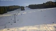 Archived image Webcam Grebenzen Ski Resort: Chair Lift 08:00