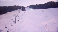 Archived image Webcam Grebenzen Ski Resort: Chair Lift 10:00