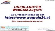 Archiv Foto Webcam Wagrain - Talstation Flying Mozart 22:00